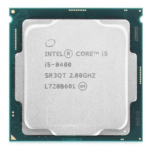 Processador gamer Intel Core i5-8400 CM8068403358811 de 6 núcleos e 2.8GHz de frequência com gráfica integrada