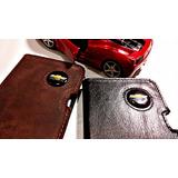Chevrolet Carteira Porta Documentos Emblema Gm Couro
