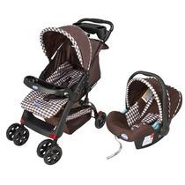Carrinho De Bebê Prime Baby Elegance C/ Bebê Conforto
