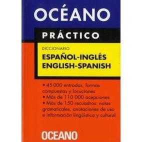 Diccionario Oceano Practico Español - Ingles - Don86