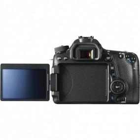 Câmera Canon Eos 70d Kit 18-55 Is Stm Preto