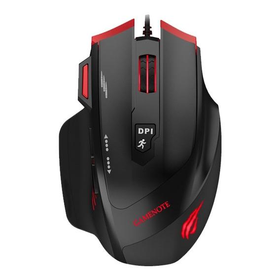 Mouse Gamer Ms1005 Havit 2400dpi 6 Contrapesos 7 Botones