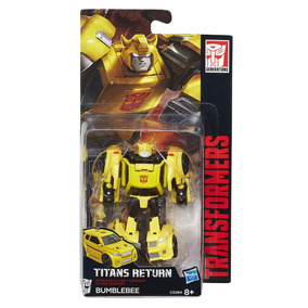 Boneco Transformers Titan Legends Bumblebee - Hasbro