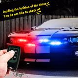 Led Policial Emergencia Circulina Camioneta Auto Con Control
