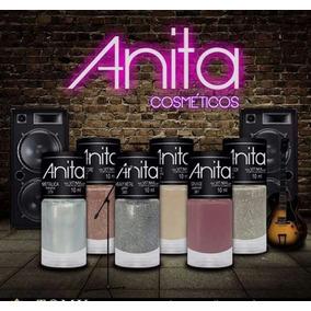 Coleção Anita Rock Esmaltes 6 Cores Lançamento