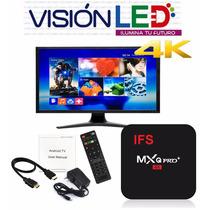Smart Tv Box Mxq 4k Android Convierte Tu Tv En Smart + Kodi