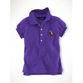 Promoção Camisa Polo Infantil Big Pony Ralph Lauren 7 Anos ... e4fe92540c3
