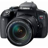 Camara - Canon Eos Rebel T7i Dslr 18-135mm Is Stm Lens/black