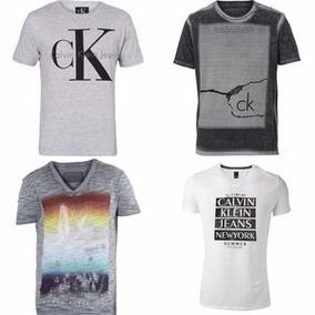 Camisetas Camisas Masculina Diversas Marca Top Kit 10 Peças