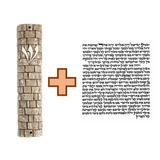 Mezuza Muro Das Lamentações + Klaf
