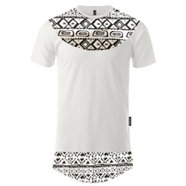Camisa Comprida Swag Bag Hip Hop Oversized