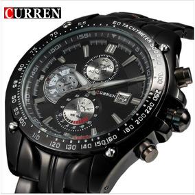 Reloj Hombre Curren 8083 Calendario Y Correa De Acero