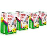 Filme Fuji Instax Mini Fujifilm Kit Com 80 Fotos