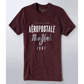 44e039570e Lote 4 Camisetas Masculina Aeropostale Original Importada