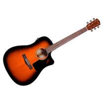 Guitarra Electroacustica Fender Cd-60ce Sunburst Estuche