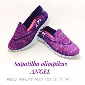 Sapatilha Olympikus Angel Slip Feetpad Fitnees Academia
