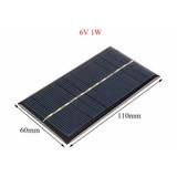 Painel Placa Célula Energia Solar Fotovoltaica 6v 1 Watts