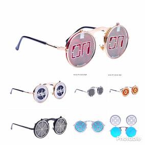 77bda1e31bb37 Oculos De Sol Modelo Steampunk - Óculos no Mercado Livre Brasil