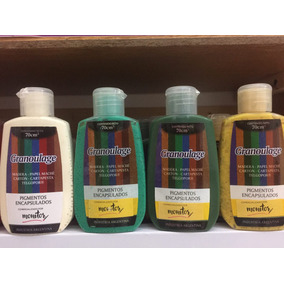 Pintura Granoulage Monitor X 70 Cc Pigmentos Encapsulados