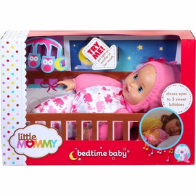 Boneca Little Mommy Hora Do Soninho Mattel Original Lacrada