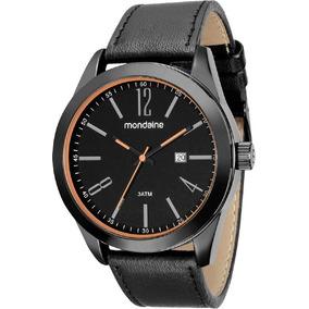 Relógio Masculino Mondaine Pulseira De Couro 99080gpmvsh1