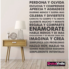 frases vinilos decorativos para pared y mas