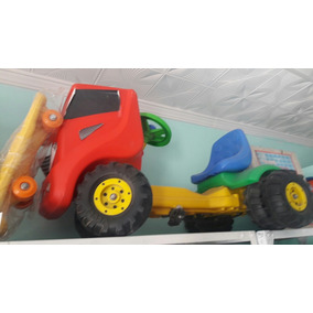 Camion A Pedales Cuatriciclo