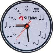 Relógio Educativo De Parede Para Músico - Aprenda Música