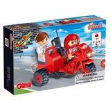 Bloco De Montar Banbao Transporte Triciclo 8781 46 Peças
