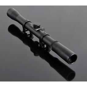 Mira Telescopìca 4 X 20 Clarity Tiro Montura Ballesta Rifle
