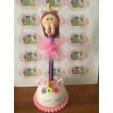 Lapiceros Decorados.grados, Safari,cotillones, Baby Shower