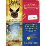Colección Harry Potter Y El Niño Maldito + Otros 3