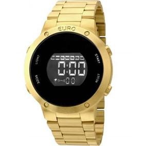 8263d4793c8 Relogio Dourado Euro - Relógios De Pulso no Mercado Livre Brasil