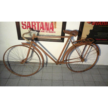 Antiguo Cuadro Bicicleta Peugeot Modelo Pu 22 Del Año 1952