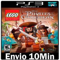 Lego Piratas Do Caribe Legendado Pt-br Psn Ps3 Envio Agora
