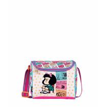 Lonchera Escolar Juvenil Mafalda Colección Yelli Ma60637-p