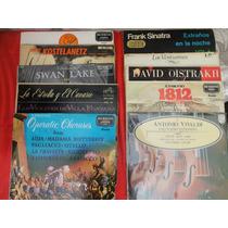 Discos Rpm De Musica Instrumental Y De Opera