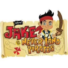 Kit Imprimible + Música De Jake Y Los Piratas De Nunca Jamas