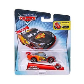 Disney Pixar Cars Relâmpago Mcqueen Carbon Racers - Mattel