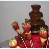 Alquiler De Fuente De Coctel Y Chocolate