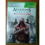 Juego Xbox 360 Assasins Creed Brotherhood Original