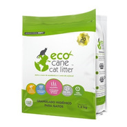 Granulado Higiênico Eco Cane Cat Litter