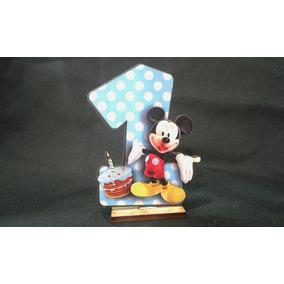Souvenir Mickey 1 Año Fibrofacil