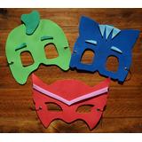 Mascara+ Pulsera Pj Masks Goma Eva Antifaz-brazalete