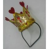 Coroa Mini Dama De Copas Tiara Luxo