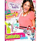 Revista Violetta = Com 200 Adesivos Raridade Violeta Nova!