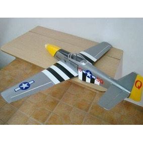 Kit Para Montar Do Aeromodelo Mustang P51