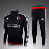 1ead9ae4a0 Agasalho Completo adidas Club Palestino Preto 15 16