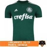 Nova Camisa Do Palmeiras S/n - 18/19 - Oficial