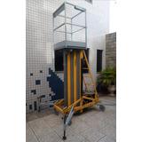 Elevador Workforce Construção Manutenção Pistão Hidráulico